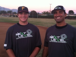 Coach Avila and Joe Winterburn